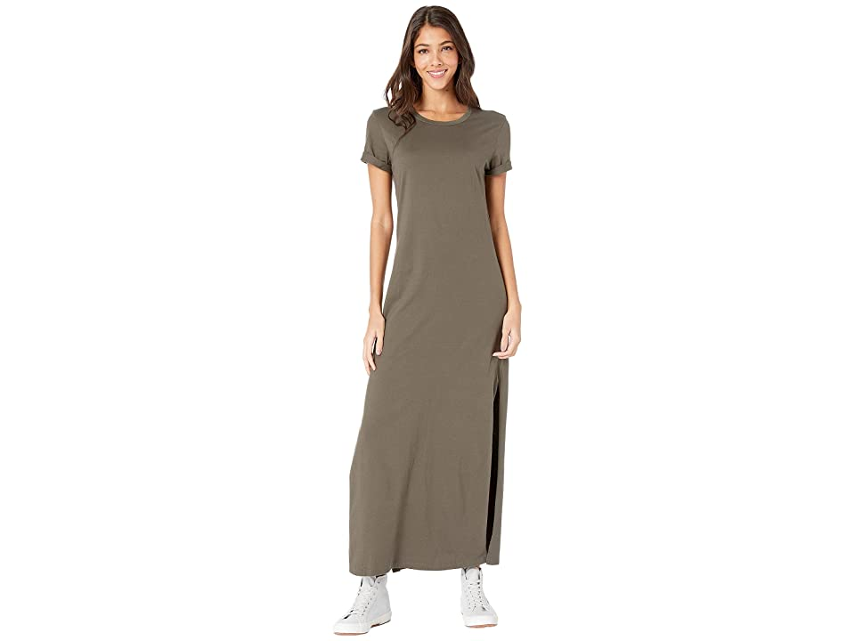 Image of AG Adriano Goldschmied Alana Dress (Ash Green) Women's Clothing