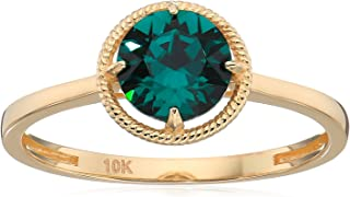 birthstone stackable rings gold