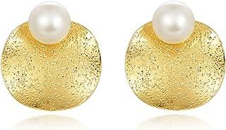 Jewelry من اللؤلؤ أقراط بسيطة مزاجه الأذن والمجوهرات الإناث البرية الراقية أقراط المرأة Stud Earring