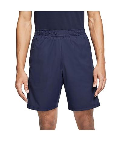 Nike NikeCourt Dry Shorts 9 (Obsidian/Obsidian/Obsidian) Men