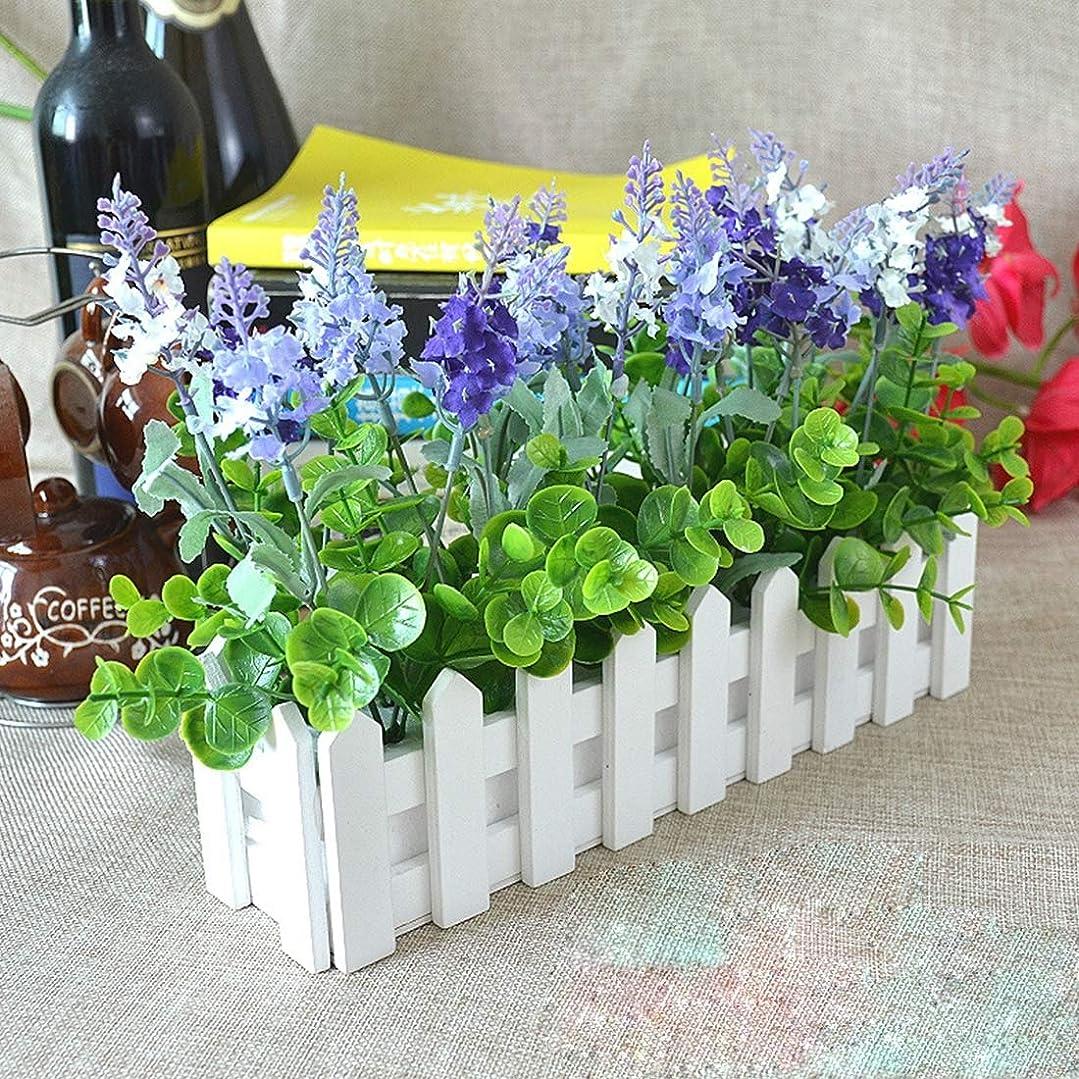 預言者間接的提案する木製花プランター フェンス 収納ホルダーポット フォームなし, (サイズ : Og0169b)