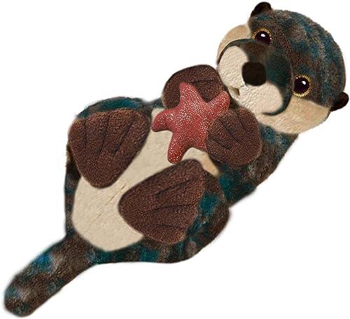 Erste & Main 7883 Floppy, unter dem Meer Otter Basic Plüsch Spielzeug, 17,8