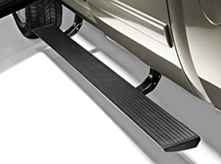 AMP Research 75126-01A PowerStep Electric Running Boards for 2007-2013 Silverado & Sierra 1500, 2007-2014 Silverado & Sierra 2500/3500 with Extended & Crew Cabs (Excludes 2011-2014 Diesel)