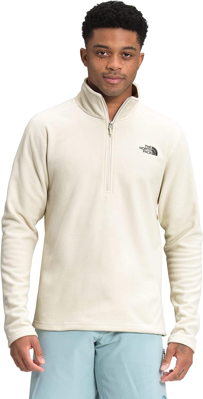 The North Face Men's Textured Cap Rock ¼ Zip Pullover Sweatshirt