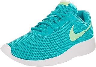 Nike Kids Tanjun BR (GS) ChlorineBlue/FreshMint/White Running Shoe 4 Kids