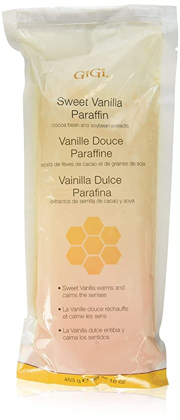 教授脅威部族GiGi Paraffin Wax - Sweet Vanilla by Gigi