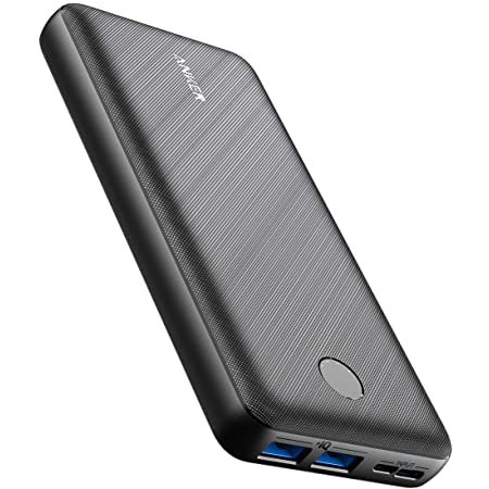 Anker PowerCore Essential 20000 (モバイルバッテリー 超大容量 20000mAh) 【USB-C入力ポート/PSE認証済/PowerIQ/低電流モード搭載】iPhone iPad Android 各種対応 (ブラック)