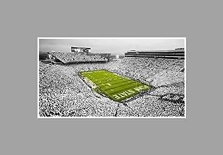 Penn State - College Football Stadium - 36x20 Matte Poster Print Wall Art TOC