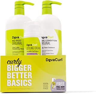 DevaCurl Bigger Better Basics - Curly Care Kit