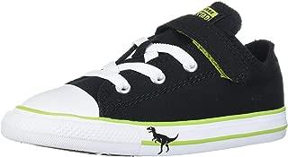 Converse Kids' Chuck Taylor All Star Dinosaur Print Hook and Loop Low Top Sneaker