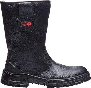 Blackrock SF01B Fur Lined Safety Rigger Boot (Black) S1-P SRC,9 UK (43 EU)