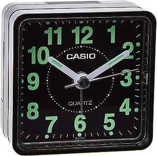 Casio TQ-140-1DF Alarm Clock, Black