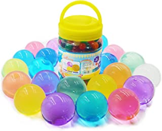 Large Water Beads, 11OZ (300 pcs) Water Gel Jelly Beads Rainbow Mix Growing Balls for Kids Tactile Sensory Toys, Vases, Plants, Wedding and Home Decorationoz (Large)