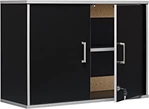 SystemBuild Apollo Wall Cabinet, Black