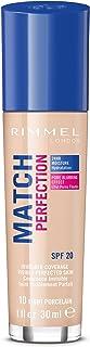 Rimmel London - Match Perfection Foundation - 010 Light Porcelain - Beige