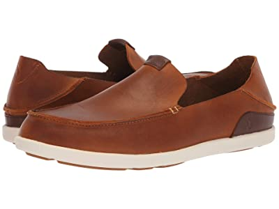 OluKai Nalukai Slip-On (Fox/Bone) Men