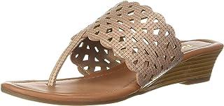 BATA Women's Palma Thong Fashion Slippers