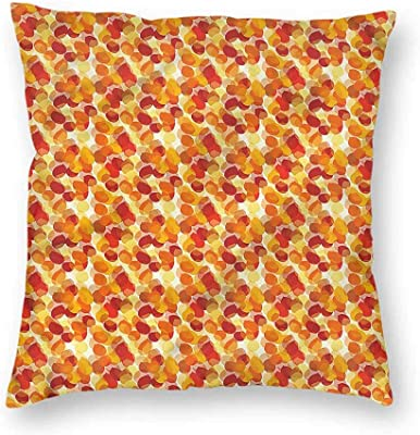 Amazon.com: clayii Abstract Floor Pillows Cupcake Pattern ...