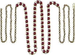 Vidhya Kangan Belly Chains for Women (Pink) (bro194)