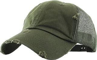Women's Adjustable Athletic Trucker Hat Mesh Baseball Cap Dad Hat