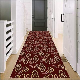 Runner Rug for Hallway, Non Slip Durable Entrance Floor Mat, Washable Home Décor Carpet for Living Room Kitchen, 70cm/90c...