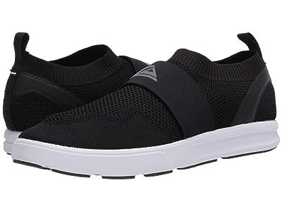 Quiksilver Amphibian Plus Slip-On II (Black/Grey/White) Men