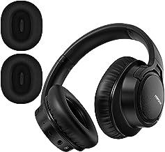 Mpow H7 Plus Auriculares Bluetooth Diadema con aptX, Orejeras Reemplazables, Cascos Bluetooth Inalámbricos con Micrófono, HiFi Calidad de Sonido para Móvil/Tableta/PC/TV