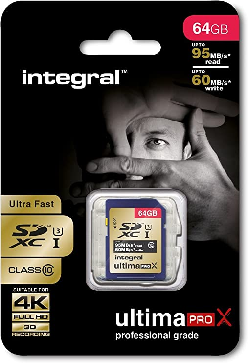 Integral Ultimapro X Sdhc Class 10 Uhs 1 Class 3 Memory Computers Accessories