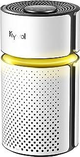 空気清浄機 23畳まで 3層フィルター 小型 卓上 花粉対策 集じん 脱臭 高性能HEPAフィルター 風量4段階 静音 省エネ タイマー チャイドルロック タバコ ペット 微粒子 PM2.5 ホコリ 臭 アレルギー キーボル