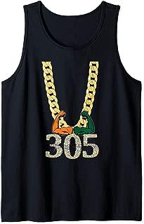 Miami Football 305 Tank Top