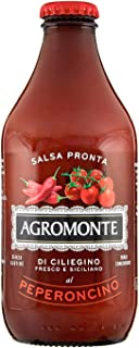 Ready Pasta Sauce Cherry Tomato with Hot Red Pepper by Agromonte (330 gram)