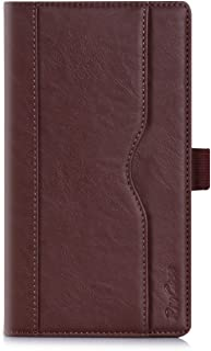 ProCase Lenovo Tab 2 A7-30 Case - Leather Stand Folio Case Cover for Lenovo Tab 2 A7-30 (A3300) 7-Inch Android Tablet, with Multiple Viewing Angles, Document Card Pocket (Brown)