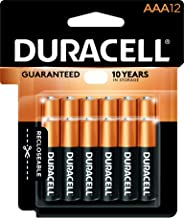 Duracell - CopperTop AAA Alkaline Batteries - long lasting, all-purpose Triple A battery for household and business - 12 count