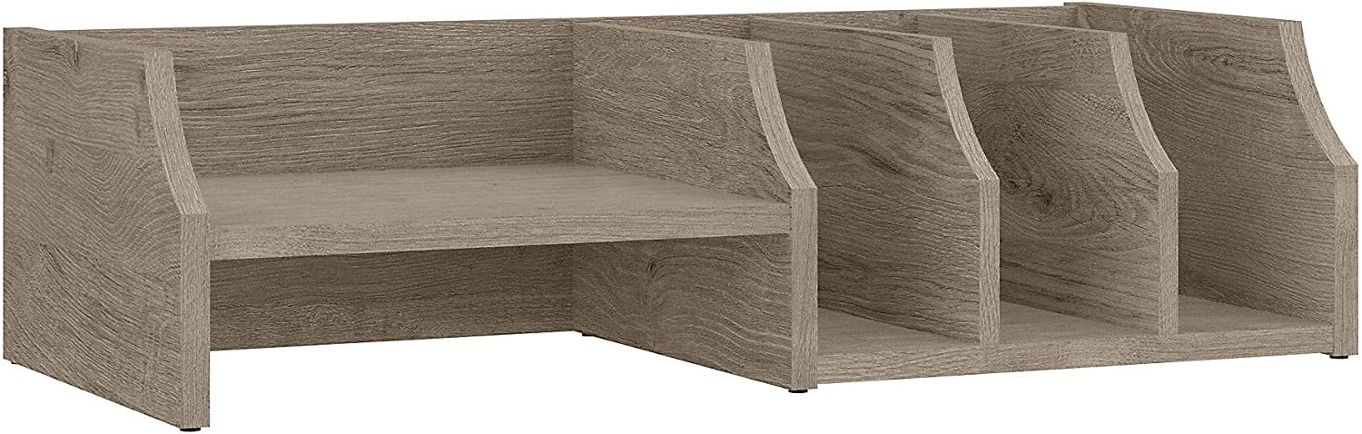 Bush Furniture Fairview NEW before selling ☆ Desktop Organizer Topics on TV with Shi 27W Shelves