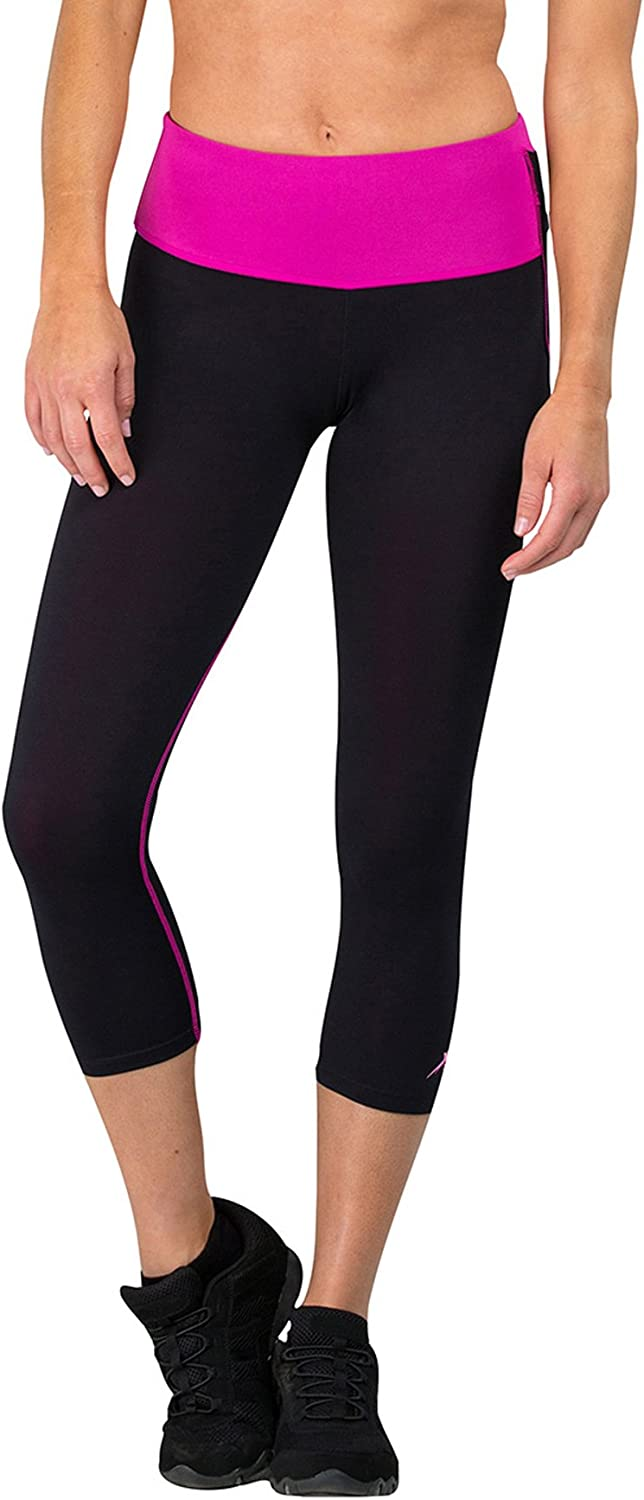 Delfin Spa Women's Mineral Infused Thru Max 62% OFF - Over item handling ☆ Exercise Petite Capris