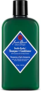 Jack Black - Double-Header Shampoo + Conditioner - PureScience Formula, Coconut Oil and Kelp Extract, Sulfate-Free, Remove...