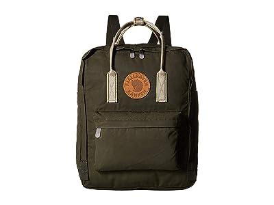 Fjallraven Kanken Greenland (Deep Forest/Greenland Pattern) Backpack Bags