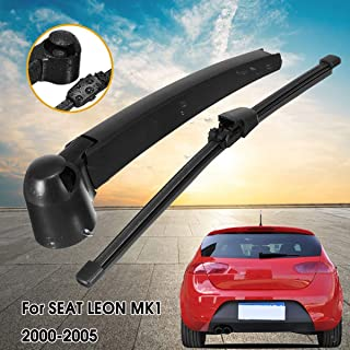 AjaxStore - 1 Set Rear Window Windscreen Wiper Arm & Blade Set For SEAT Leon Mk1