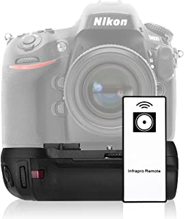an eCostConnection Microfiber Cloth Professional Vertical Battery Grip for Canon Rebel EOS SL1 Camera with Remote Control