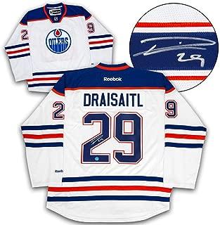 Leon Draisaitl Autographed Jersey - Rookie Reebok Premier - Autographed NHL Jerseys