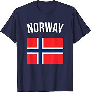 Norway T-shirt Norwegian Flag Tee Vacation Travel Souvenir T-Shirt