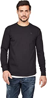 G-Star Men's Swando Loose Longsleeved T-Shirt, Black