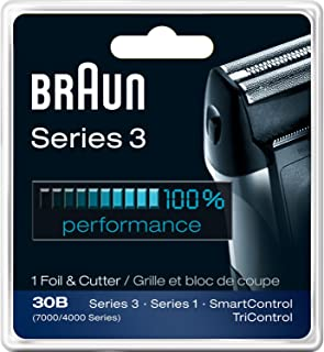 Braun Series 3 Combi 30b Foil And Cutter Replacement Pack (7000/4000 Series) (Two Pack)