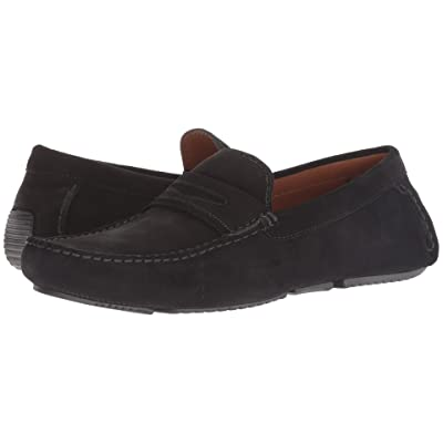 Aquatalia Brandon (Black Suede) Men