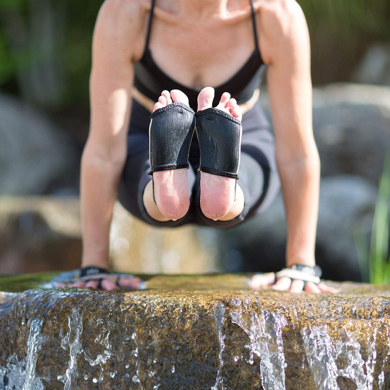 f/ür Yoga und f/ür verschwitzte H/ände und F/ü/ße Crossfit Radfahren YogaPaws SkinThin rutschfeste Yogahandschuhe und Yoga-Socken f/ür Damen und Herren Hot Yoga