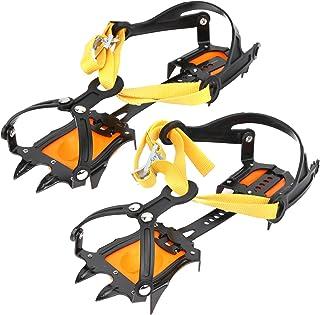 BOLORAMO Pointe de poignée de Chaussure, Crampon d'escalade en Acier Inoxydable pour équipement d'escalade sur Glace pour ...