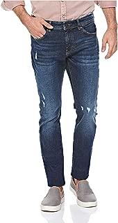 Lee Cooper Slim Fit Abrased Denim Jeans for Men