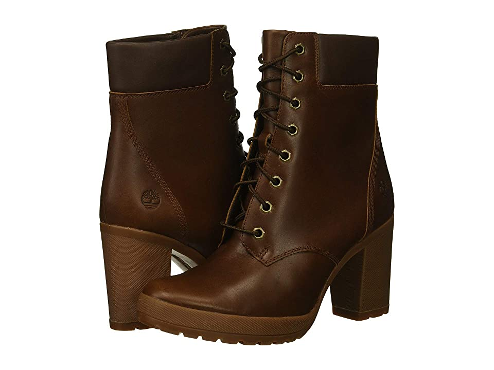 Timberland Camdale 6 Boot (Medium Brown Full Grain) Women's Lace-up Boots