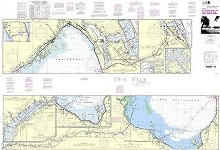 NOAA Chart 11428: Okeechobee Waterway St. Lucie Inlet to Fort Myers; Lake Okeechobee