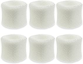 BIHARNT WF2 Humidifier Wicking Filters Compatible with Vicks & Kaz 3020,V3100,V3500,V3600,V3800,V3900,ECM-250i,ECM-500 and WA-8D (6 Pack)